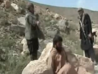 Afghan Soldier executed