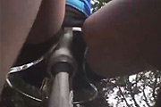 Riding the orgasm bike