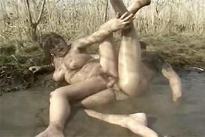 Share girl fucking in mud