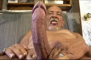 Old Man with a Big Cock
