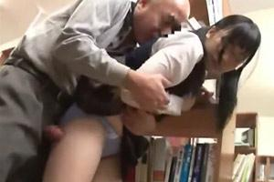 Girl abused in library