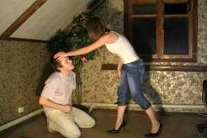 Ballbusting and Cock Torture Babe