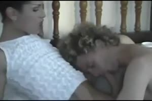 Tranny dominates her guy