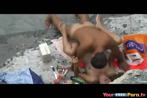 Busted A Couple Having Sex At The Beach