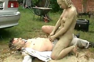 Dude Raped By Mud Woman